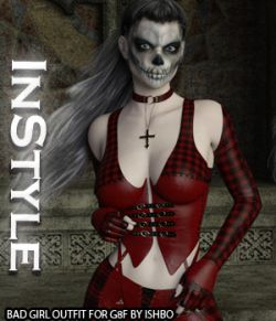 InStyle- Bad Girl Outfit for Genesis 8 Females