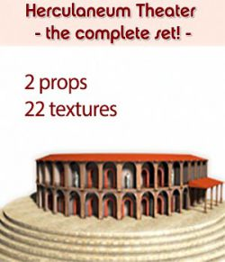 Herculaneum Theater - COMPLETE - for Poser