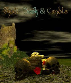 DA-Skull, Book & Candle
