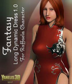 Y3D Dynamic Fantasy Dress 1 for Raffaella