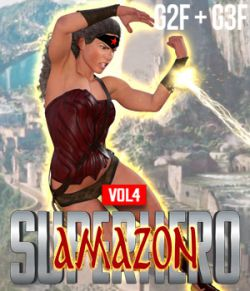 SuperHero Amazon for G2F and G3F Volume 4