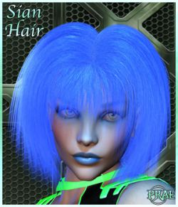 Prae-Sian Hair for V4 Poser