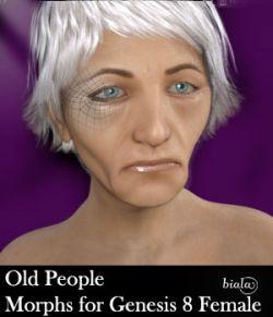 Old People Morphs For Genesis 8 Female