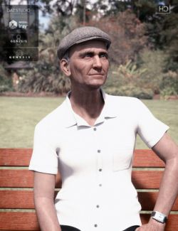 Old Chap for Genesis 3 and 8 Male