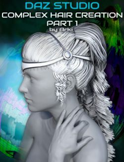 Complex Hair Creation Part 1: Modeling