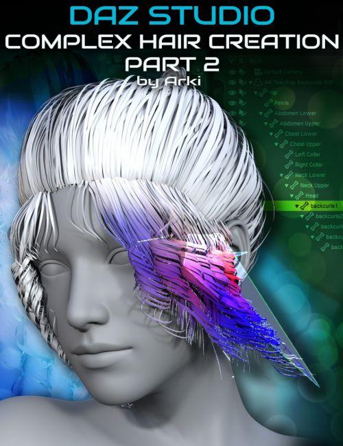 Complex Hair Creation Part 2: Rigging