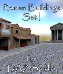 Roman Buildings Set I - for DAZ Studio