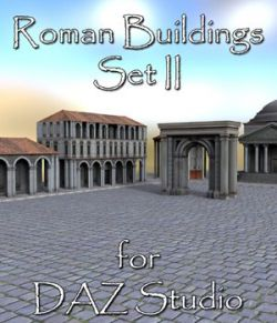 Roman Buildings Set II - for DAZ Studio