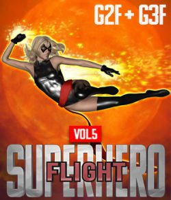 SuperHero Flight for G2F and G3F Volume 5