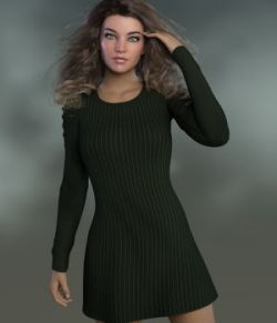 CoZee Dress for Genesis 8 Female(s)