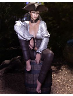 CB Saltair Clothing Set for Genesis 3 and 8 Female(s)