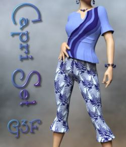 Capri Clothing Set for G3F/V7