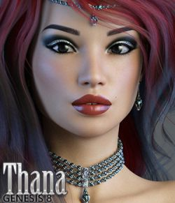 3DSS Thana for Genesis 8 Female