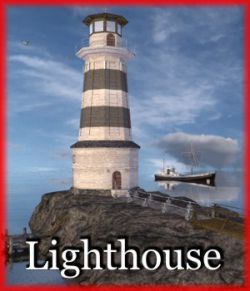 Lighthouse for Poser