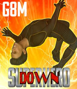 SuperHero Down for G8M Volume 1