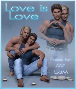 Love is Love - Couple poses for G3M and M7