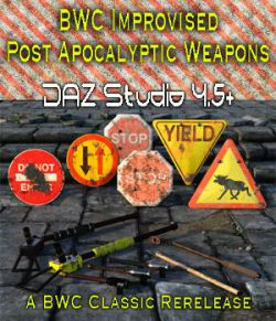 BWC Improvised Post Apocalyptic Weapons