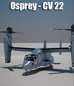 Osprey CV 22 Air Force- Animated