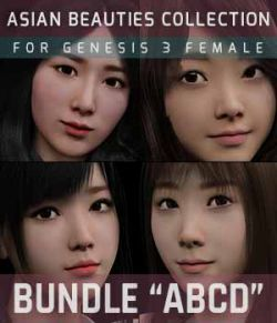 BUNDLE Asian Beauties Collection ABCD