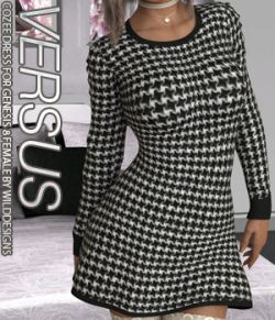 VERSUS - CoZee Dress for Genesis 8 Female(s)