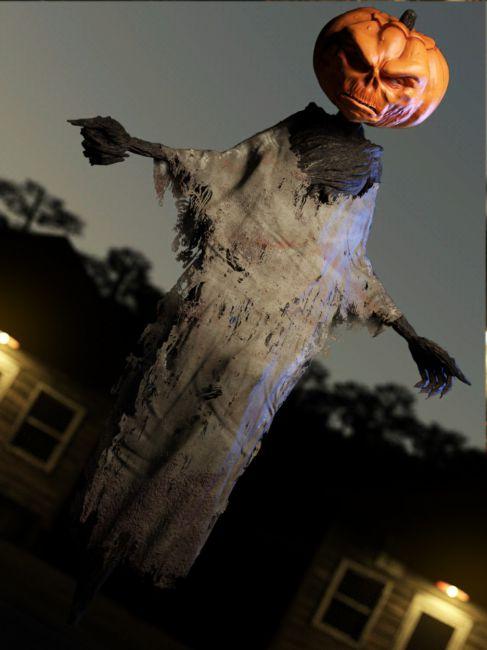 Mean Mr Pumpkin Head for Genesis 8 Male