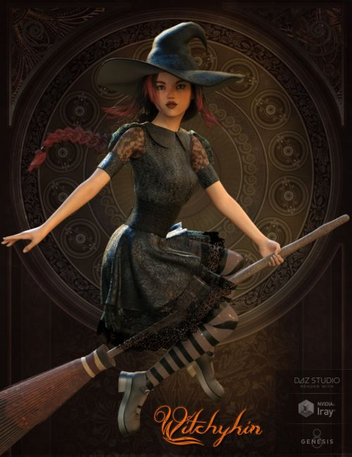 Witchykin Outfit for Genesis 8 Female(s)