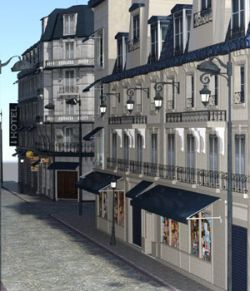 European Street - for DAZ Studio