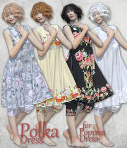 PolkaDress for PoppiesDress