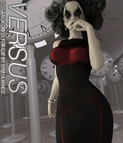 VERSUS- Eleganza Dress G3F