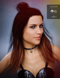 Sabela Hair for Genesis 8 Female(s)