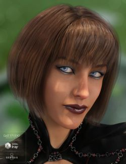 Swizzle Bob Hair for Genesis 8 Female(s)