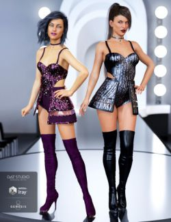 Pop Star Outfit Textures