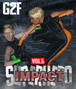 SuperHero Impact for G2F Volume 5