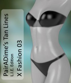 PAIRADIME'S TAN LINES L.I.E. EDITION- Fashion Bikini 03