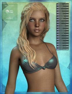 Genesis 8 Female Body Morph Resource Kit 2
