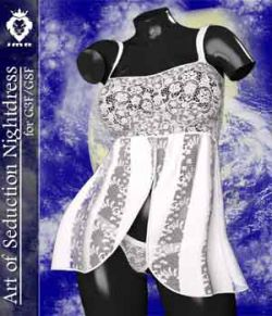 JMR Art of Seduction Nightdress for G3F/G8F
