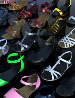 Summer Footwear Collection Genesis 2, 3 & 8 Female(s)