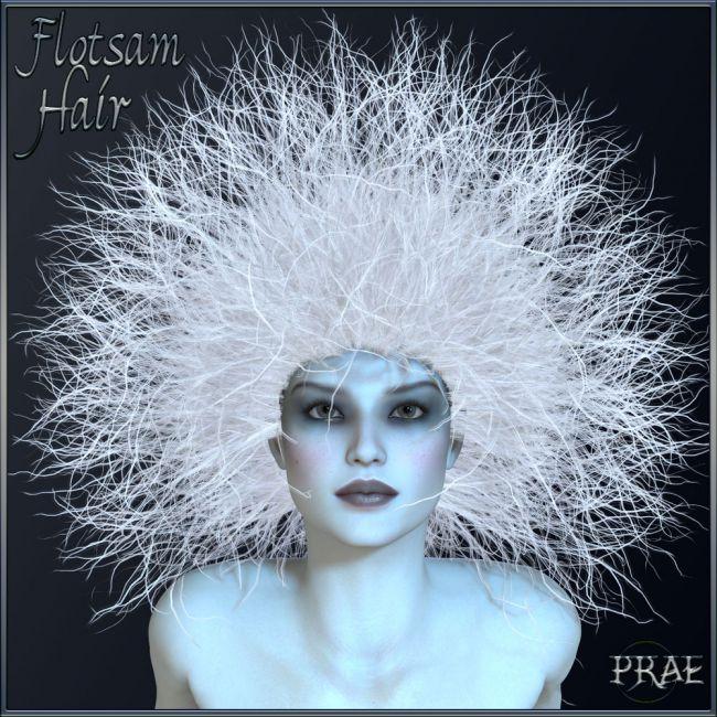 Prae-Flotsam Hair V4 Poser