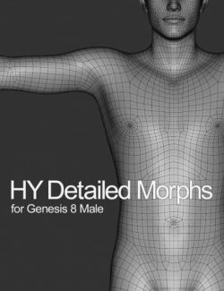 HY Detailed Morphs for Genesis 8 Male