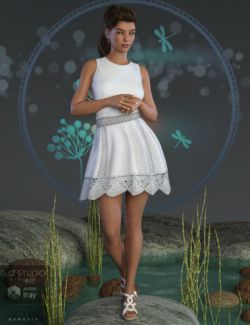 Cool Lace Outfit for Genesis 8 Female(s)