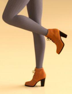Pendi Boots & Leggings for Genesis 8 Female(s)
