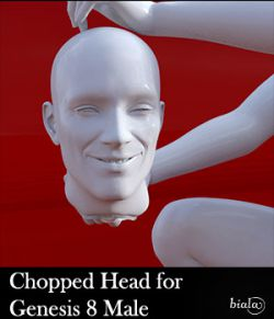 Chopped Head for Genesis 8 Male
