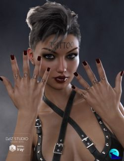 Word Tattoo for Genesis 3 and 8 Female