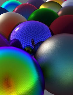 Iridescent Shaders for Iray
