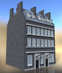 No 10 Downing Street- for DAZ Studio