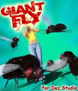 Giant Fly for DS Iray