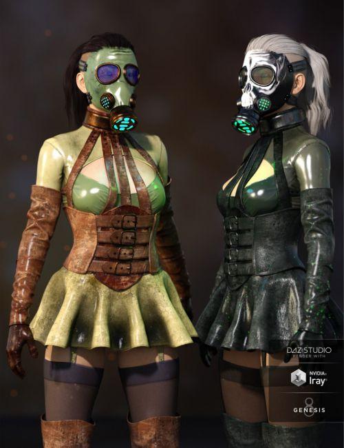 Sasha Outfit Textures