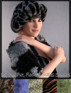 DG Iray Fur, Flocking, Scales Shader Presets
