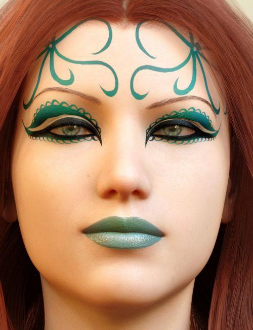 Ultimate Make-Up: Fantasy for Genesis 8 Female