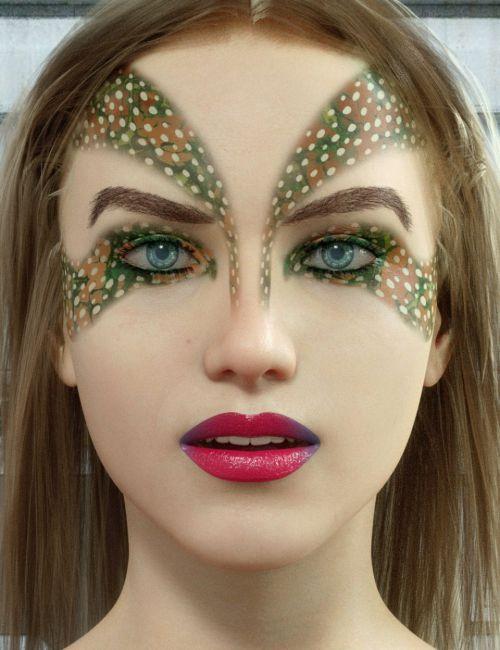 Ultimate Make-Up: Sci-Fi for Genesis 8 Female